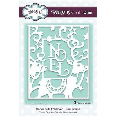 Creative Expressions - Paper Cuts Collection - Noel Frame Craft Die