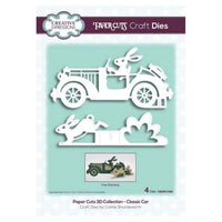 Creative Expressions - Paper Cuts 3D Collection - Classic Car