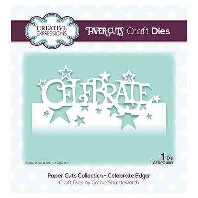 Creative Expressions - Paper Cuts Collection - Celebrate Edger