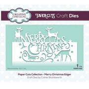 Creative Expressions - Paper Cuts Collection - Merry Christmas