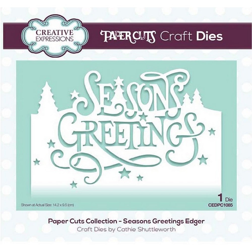 Creative Expressions - Paper Cuts Collection - Season's Greetings