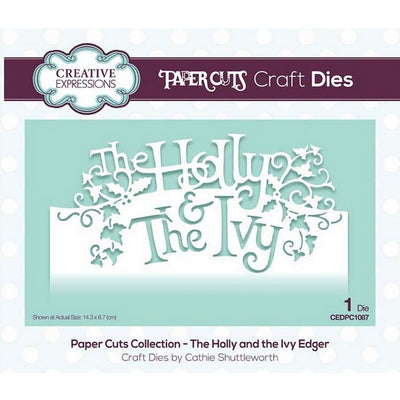 Creative Expressions - Paper Cuts Collection - The Holly & The Ivy