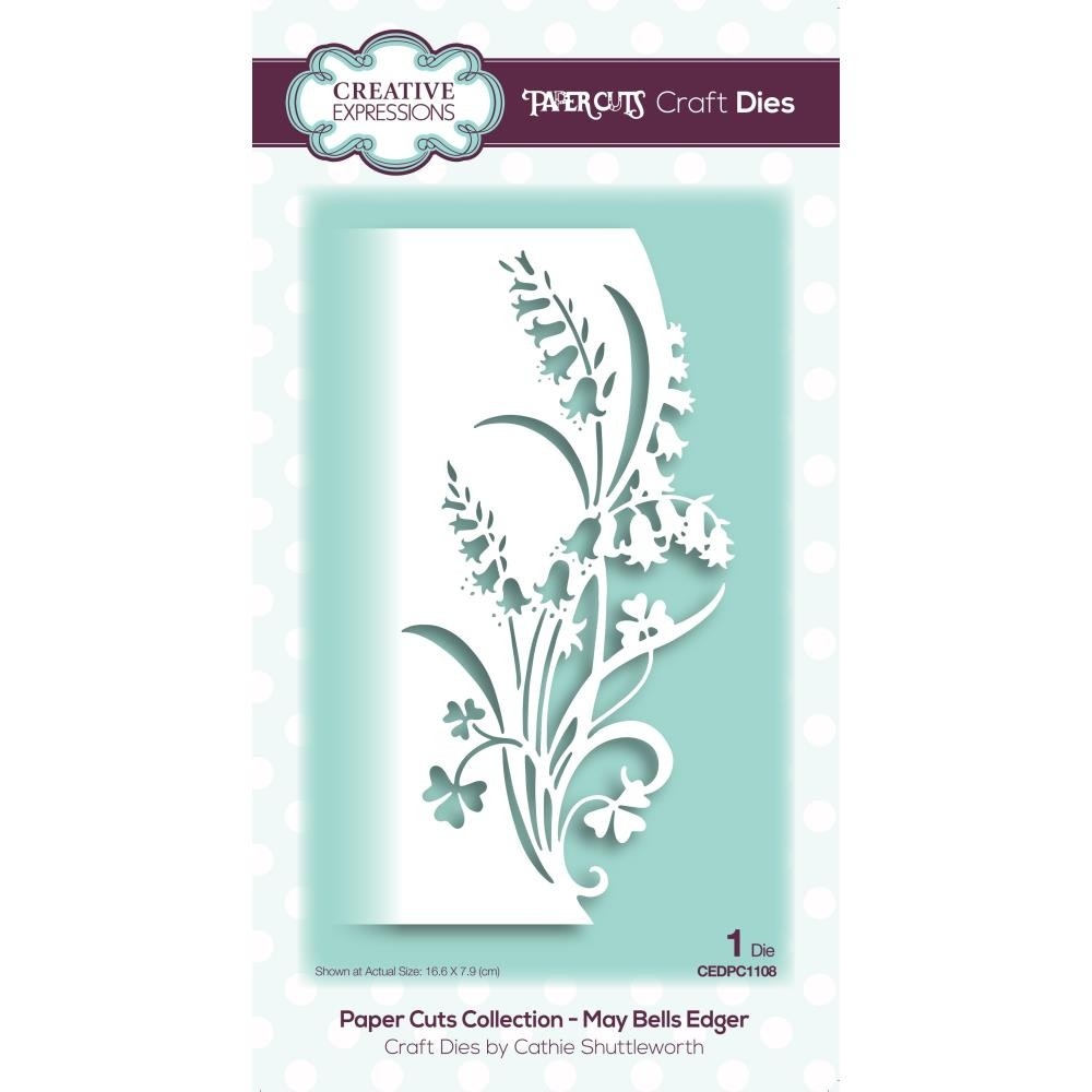 Creative Expressions - Dies - Paper Cuts Collection - May Bells Edger