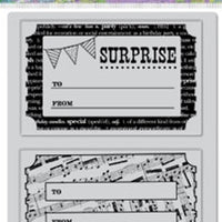 Hero Arts Stamps - Cling - Surprise