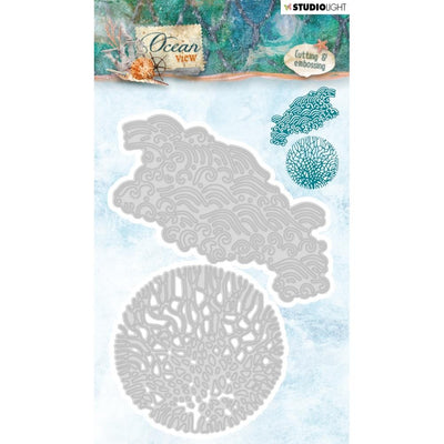 Studio Light Ocean View Cutting & Embossing Die - Coral