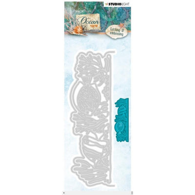 Studio Light Ocean View Cutting & Embossing Die - Coral Border