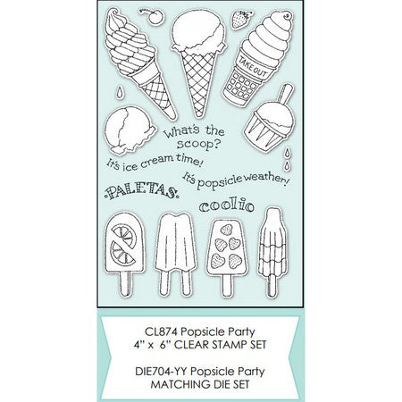 Impression Obsession - Popsicle Party Stamps