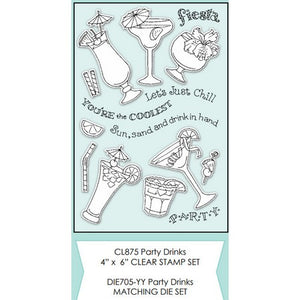 Impression Obsession - Party Drinks Stamps