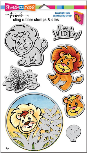Stampendous - Stamp/Die Set - Lion