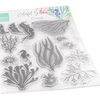 Marianne Design - Clear Stamps - Coral