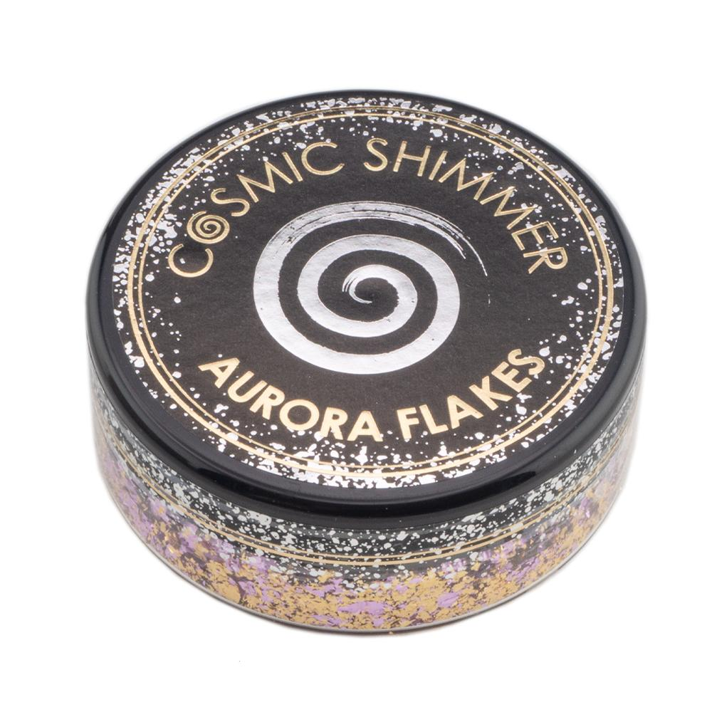 Cosmic Shimmer Aurora Flakes 50ml - Morning Blush