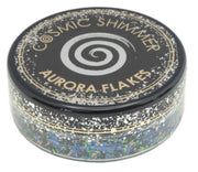 Cosmic Shimmer Aurora Flakes 50ml - Enchanted Forest