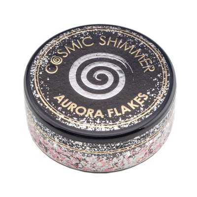 Cosmic Shimmer Aurora Flakes 50ml - Icy Pink