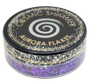 Cosmic Shimmer Aurora Flakes 50ml - Passion Pop