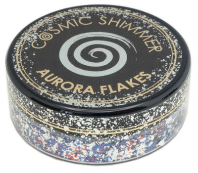 Cosmic Shimmer Aurora Flakes 50ml - Royal Sparkle
