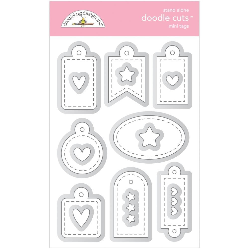 Doodlebug Designs - Dies - Mini Tags