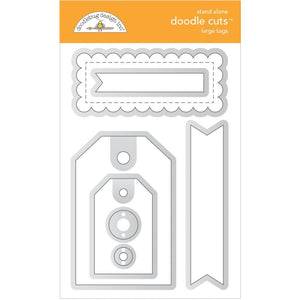 Doodlebug Designs - Dies - Large Tags