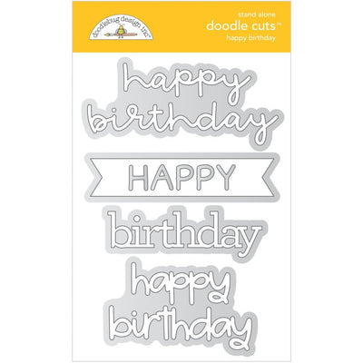 Doodlebug Designs - Dies - Happy Birthday
