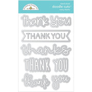 Doodlebug Designs - Dies - Many Thanks