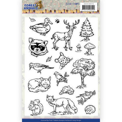Amy Design - Clear Stamps - Forest Animals