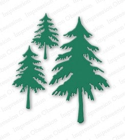 Impression Obsession - Dies - Fir Trees