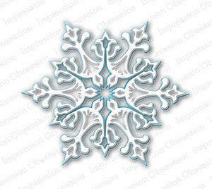 Impression Obsession - Dies - Large Snowflake