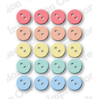 "Impression Obsession - Dies - 3/8"" Buttons"