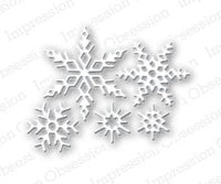 Impression Obsession - Dies - Small Snowflake Set