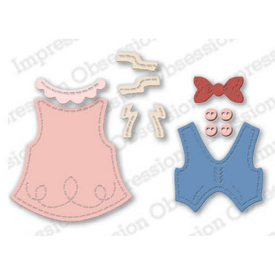 Impression Obsession - Dies - Small Gingerbread Accessories