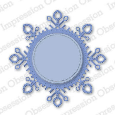 Impression Obsession - Dies - Snowflake Frame