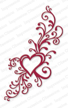 Impression Obsession - Dies - Heart Flourish
