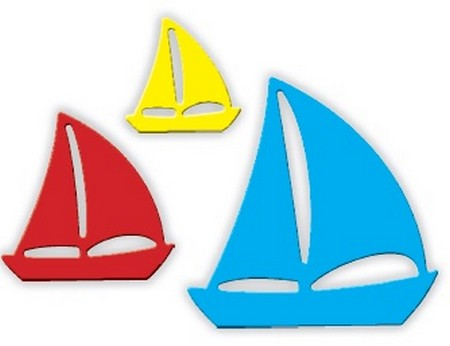 Impression Obsession - Dies - Sailboats
