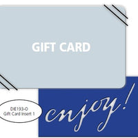 Impression Obsession - Dies - Gift Card Insert 1