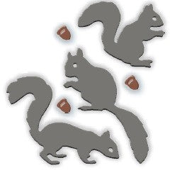 Impression Obsession - Dies - Squirrel Set