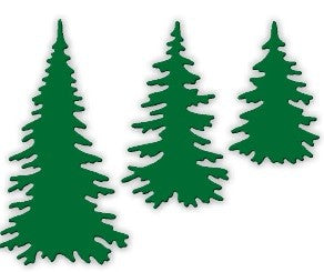 Impression Obsession - Dies - Evergreen Trees