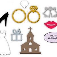 Impression Obsession - Dies - Wedding Icons