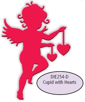 Impression Obsession - Dies - Cupid With Hearts