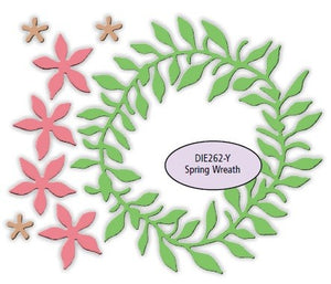 Impression Obsession - Dies - Spring Wreath