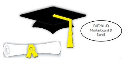Impression Obsession - Dies - Mortarboard & Scroll
