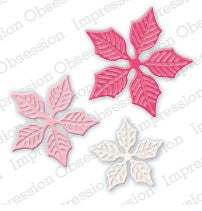 Impression Obsession - Dies - Poinsettia Set Small