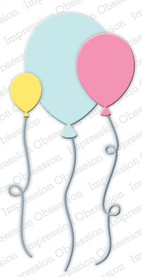 Impression Obsession - Dies - Balloons