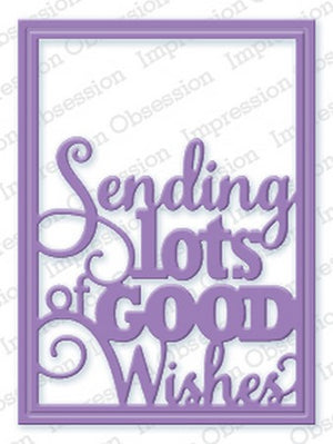 Impression Obsession - Dies - Good Wishes Block