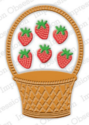 Impression Obsession - Dies - Strawberry Basket