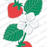 Impression Obsession - Dies - Strawberry Set