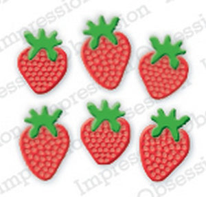 Impression Obsession - Dies - Sm. Strawberry Bunch