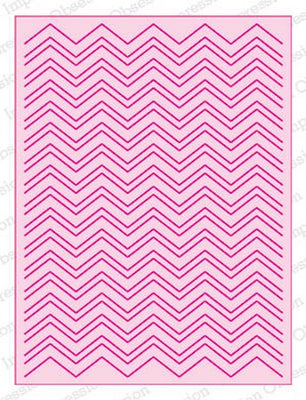 Impression Obsession - Dies - Chevron Adapt-a-Background