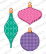 Impression Obsession - Dies - Patchwork Ornaments