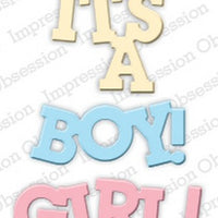 Impression Obsession - Dies - Baby Girl & Boy
