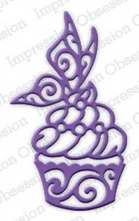 Impression Obsession - Dies - Fancy Cupcake