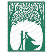 Impression Obsession - Dies - Bride & Groom Frame